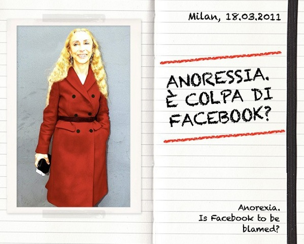Is Facebook to blame for anorexia? Franca Sozzani thinks so