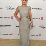 Kelly Osbourne's pretty at the Oscars party