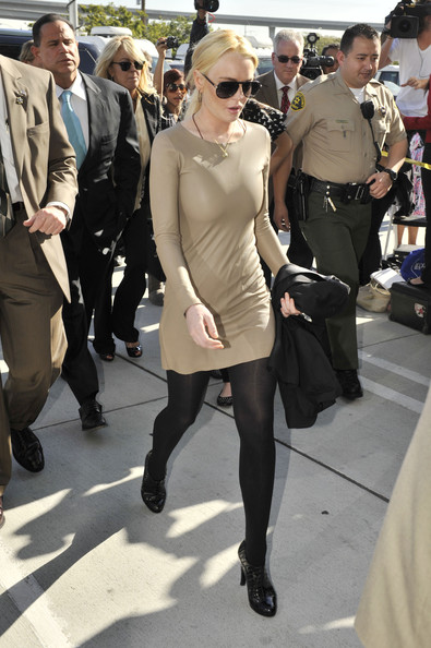 Lindsay Lohan's courtroom look