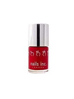 Nails Inc 10ml St James bright red nail varnish
