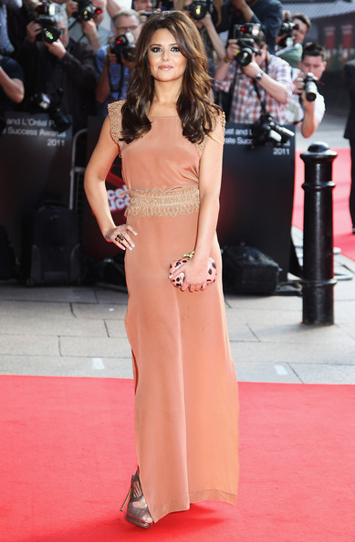 Cheryl Cole shimmers in Sass and Bide