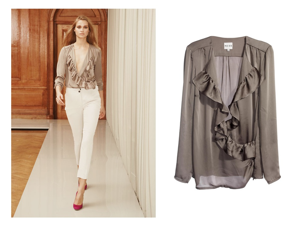 Lunchtime buy: Reiss Sierra blouse