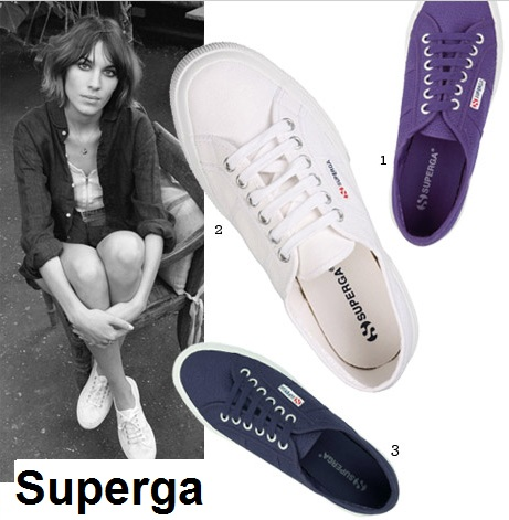 Get Alexa's everyday style with Superga