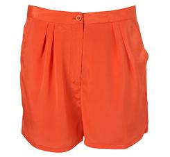 Topshop Tangerine Shorts