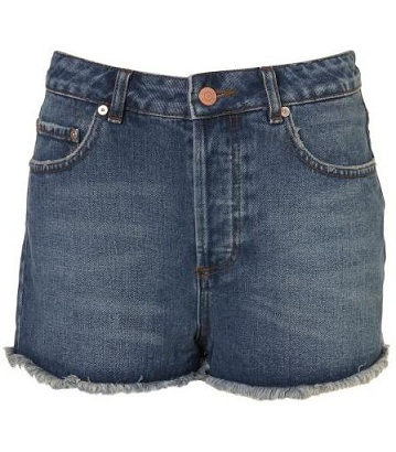 How to wear it: denim shorts