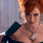 Christina Hendricks models for Vivienne Westwood