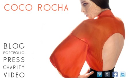 First Look: never before seen shots of Coco Rocha