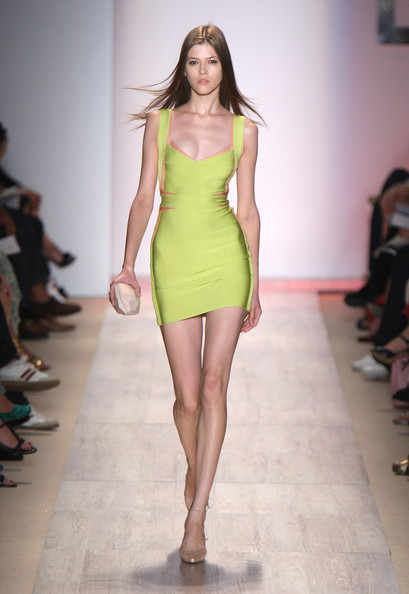 Herve Leger finds today's models uninspiring