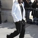 Kanye West is refused entry to Balmain show