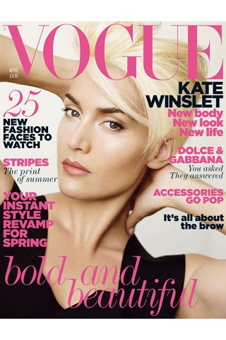 Kate Winslet goes for the chop