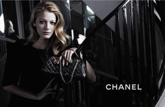 More Blake Lively Chanel ads