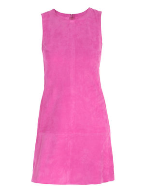 Love or Hate: Balenciaga sleeveless suede dress