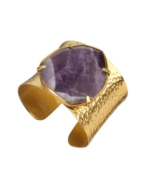 Deal of the day: Jaeger amethyst cuff