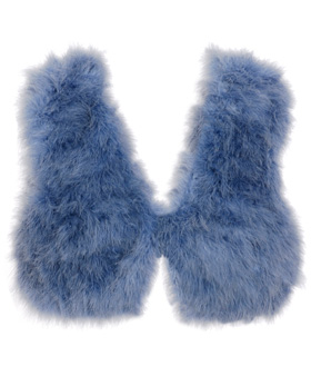 Love or Hate: Dries Van Noten marabou shrug