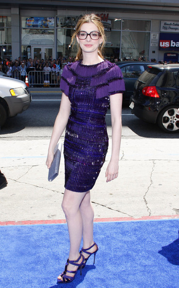 Anne Hathaway's Gucci geek-over