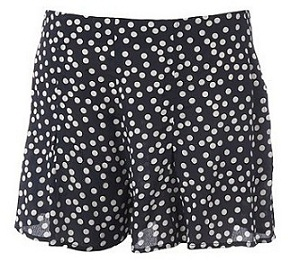 H! Polka dot shorts