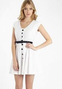 H! White dress
