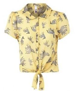 H! Zebra shirt