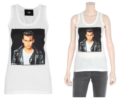 Love or Hate: D&G Johnny Depp T-shirt