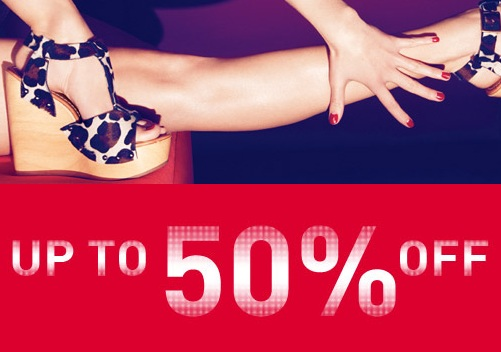 Up to 50% off in Kurt Geiger's mid-season sale!
