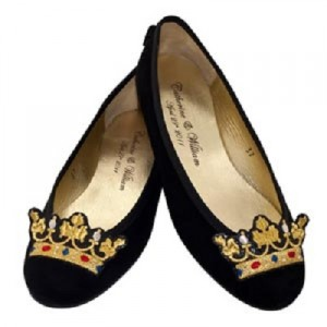 Royal wedding ballet pump