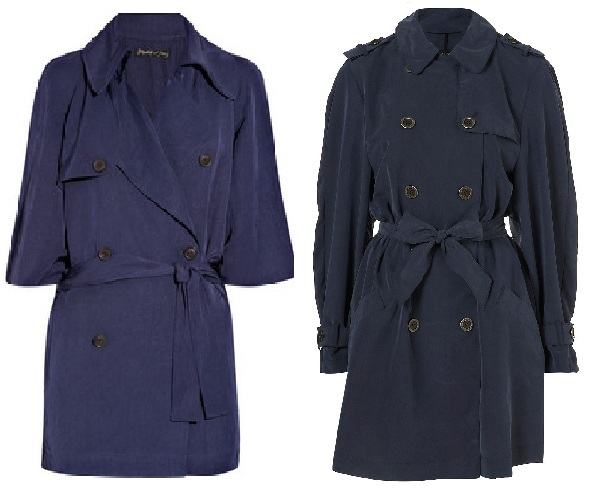 Steep vs Cheap: Elizabeth and James Bogart trench