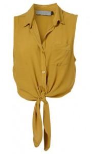 Topshop crepe shirt
