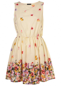 Topshop pansy dress