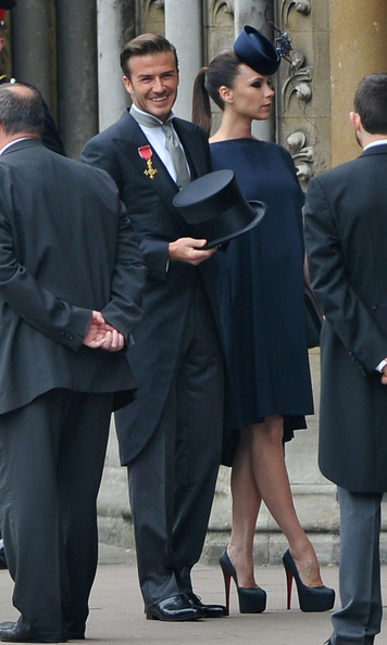 Victoria Beckham wears Victoria Beckham to royal wedding
