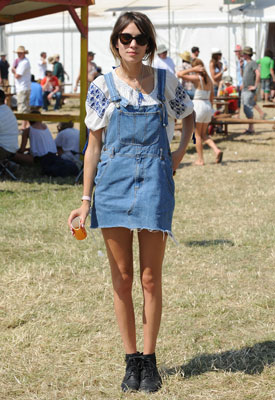 How to wear it: dungarees