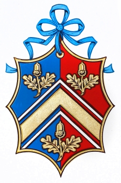 The Middleton family have their own Coat of Arms
