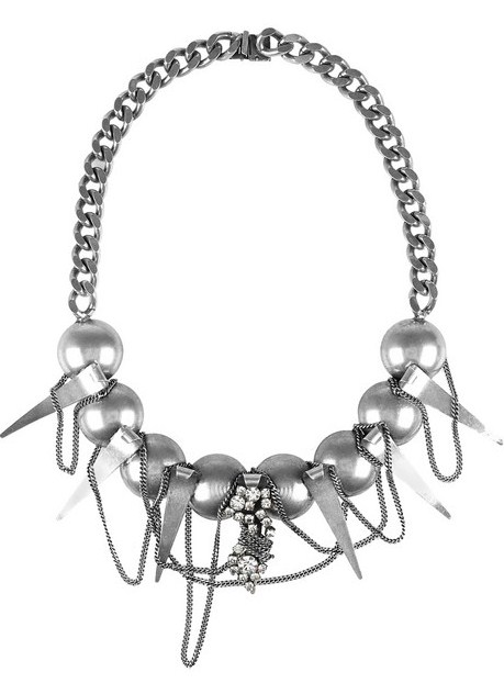 Lunchtime buy: Dannijo Swarovski necklace