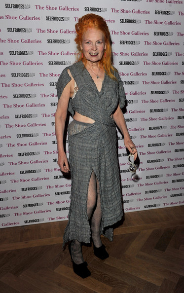 Vivienne Westwood says men are more insecure than women