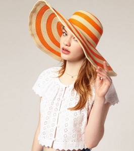 ASOS Stripe hat