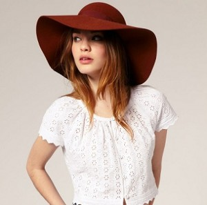 ASOS floppy hat