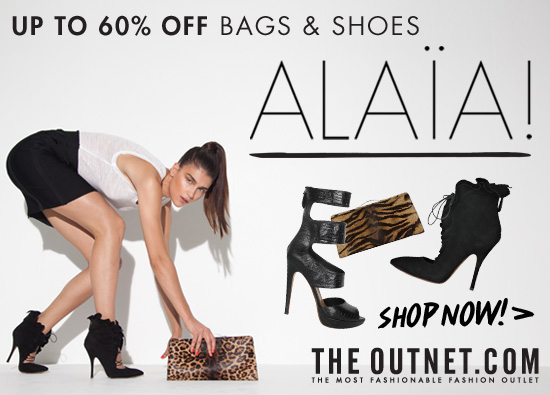 Up to 60% off Alaia!