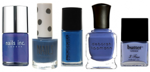 Blue Nail Varnish