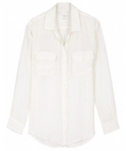 Equipment white shirt