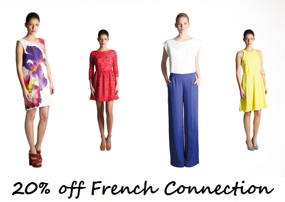 Get 20% off French Connection until Midnight tonight!