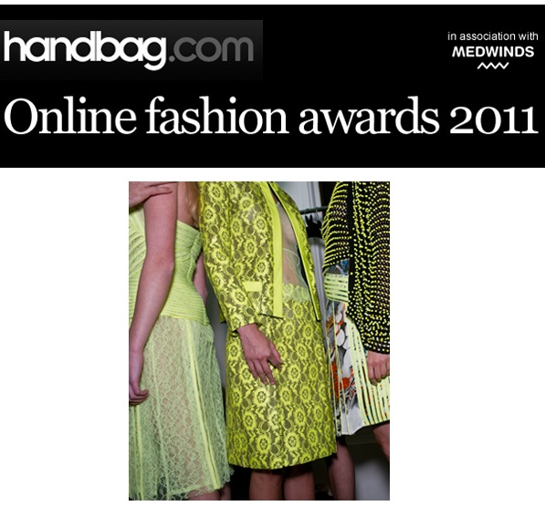 Vote for us in Handbag's Online Fashion Awards!