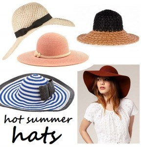 Hot Summer Hats