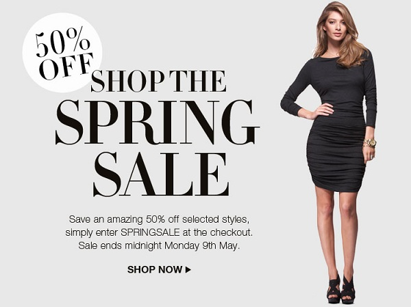 Get 50% off in Isabella Oliver's spring sale!