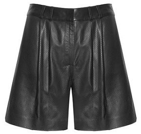 Jaeger leather shorts