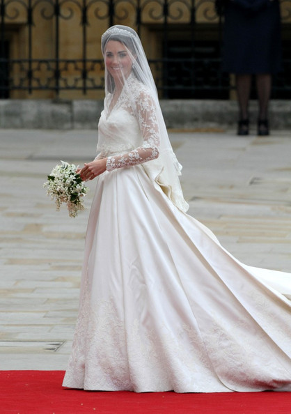 What does Kate's McQueen wedding dress say about her?
