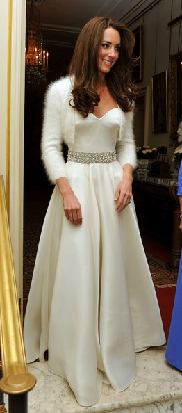Kate Middleton's second McQueen gown is (almost) as gorgeous as the first