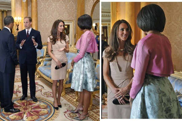 When Kate (Middleton) met Michelle (Obama)