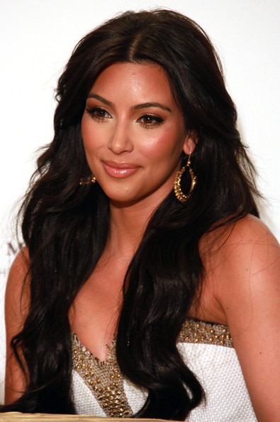 kim kardashian new hair color 2011. the week: Kim Kardashian