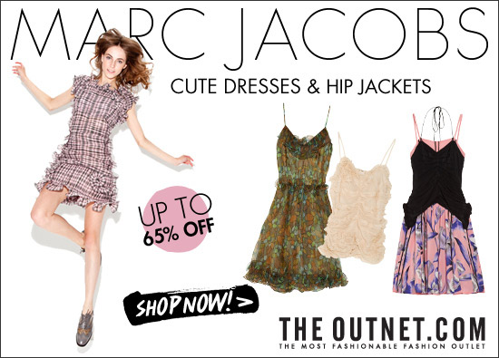 It's Marc Jacobs week at the Outnet with 65% off!