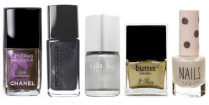 Metallic Nail colours