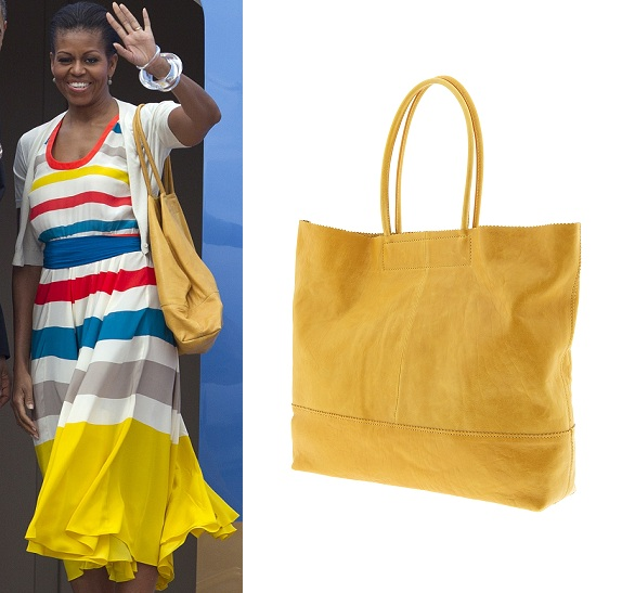 Get Michelle Obama's Banana Republic bag!